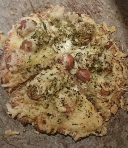 Pizza uten hvetemel