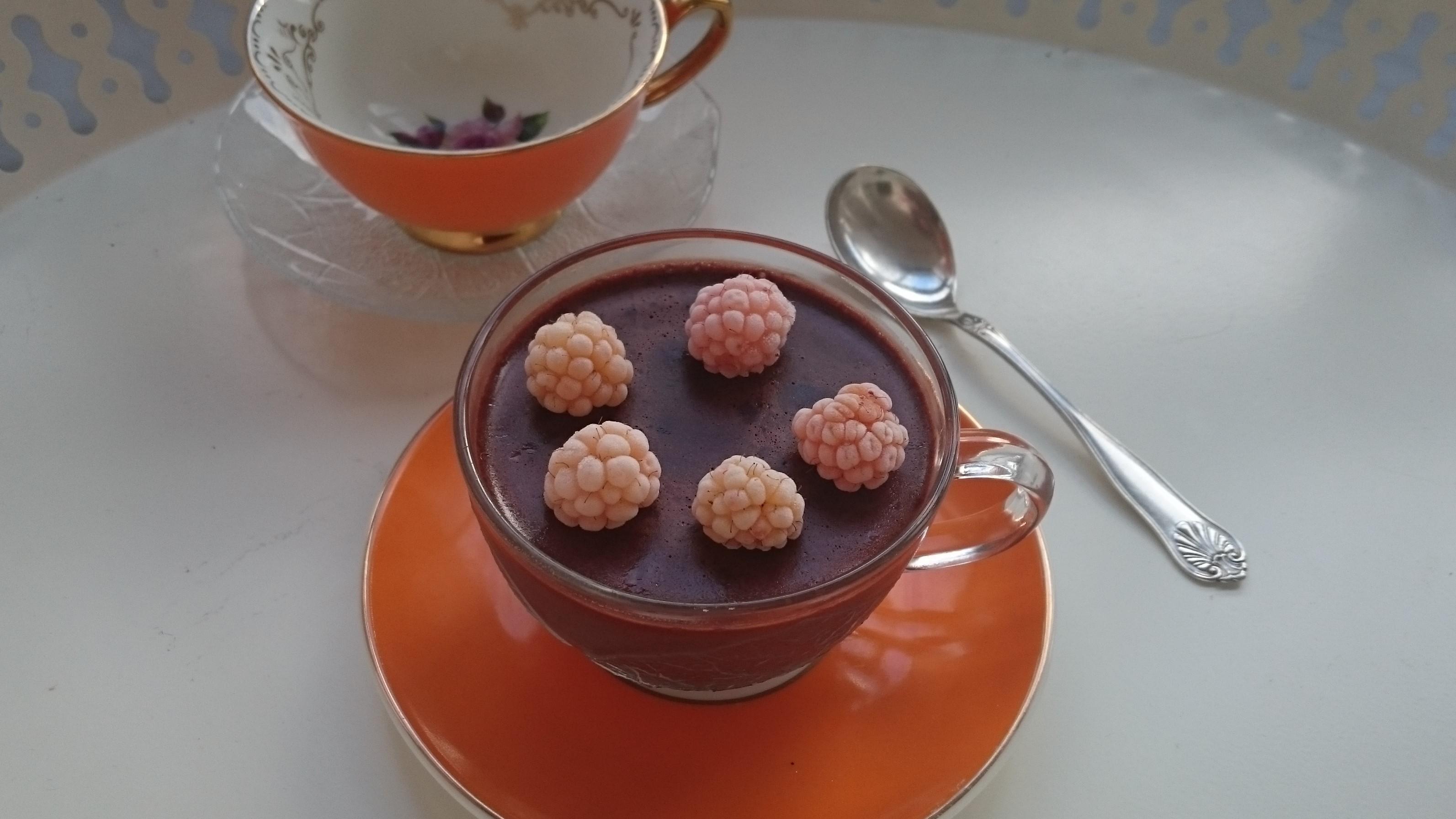 Lavkarbo propudding med sjokoladesmak