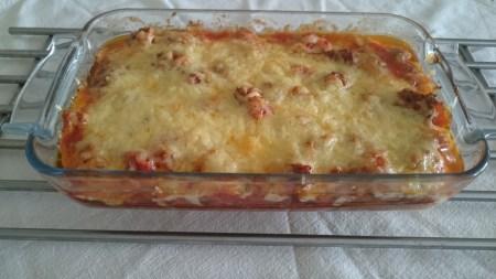 Lasagne uten pastaplater