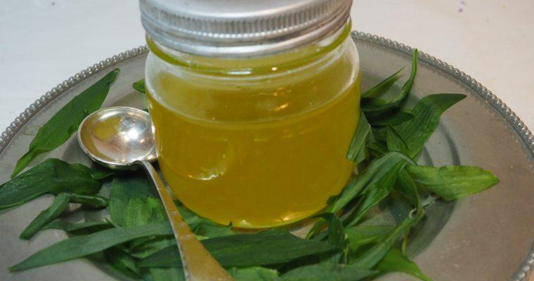 Klarnet smør (Ghee) med ramsløk