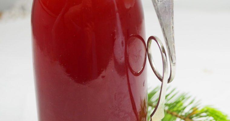 Søt og deilig sirup av granskudd ( uten sukker )