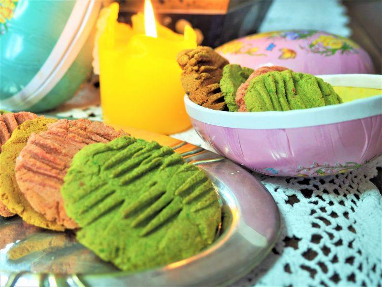 Cookies med påske vibber